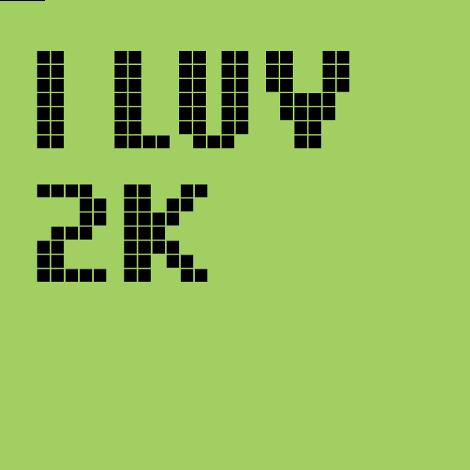 I LUV 2K